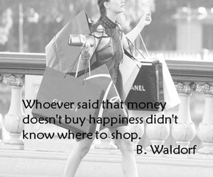 shopping, gossip girl, and quote image