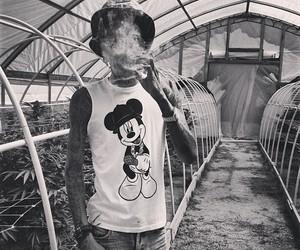 wiz khalifa, weed, and marijuana image