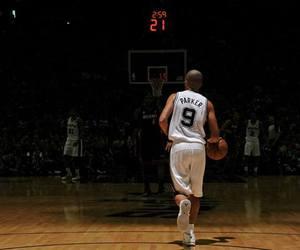 tony parker, Basketball, and NBA image