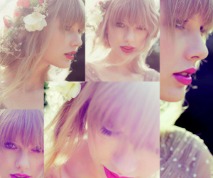 Collage, taylor, and pink image