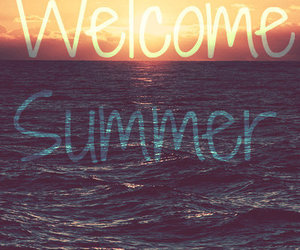 summer, sea, and welcome image