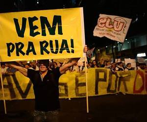 brazil, revolution, and protest image