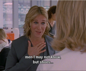 sex and the city, shoes, and quotes image