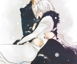 bleach, Ichigo, and yaoi image