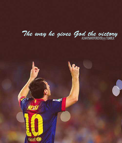 soccer inspiration messi - Google Search on We Heart It