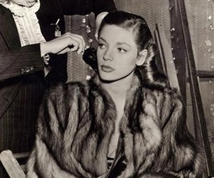 Lauren Bacall, Pin Up, and vintage image