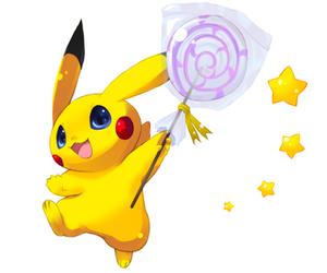 pikachu, cute pokemon, and pokemon image