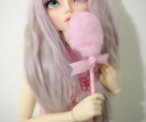 doll and pastel image
