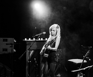 blonde, concert, and guitar image