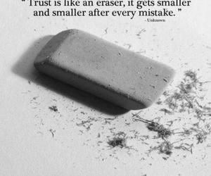 trust, quote, and eraser image