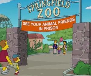 zoo, simpsons, and animal image