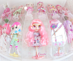 blythe, doll, and pink hair image