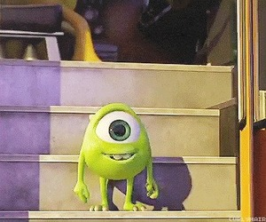 mike, monsters university, and disney image
