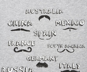 moustache, china, and france image