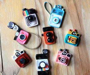 camera, paper craft, and cute image