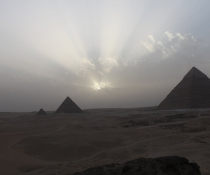 pyramid, pale, and egypt image