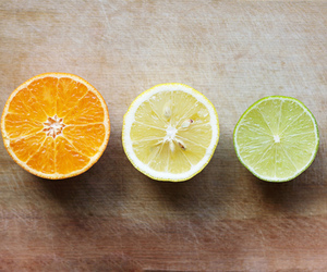 lemon, orange, and fruit image