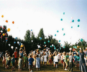 balloons, photography, and people image
