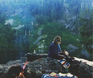 fofo, menina, and montanhas image