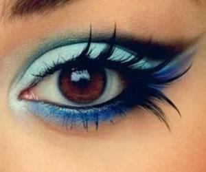 eye, make up, and girl image
