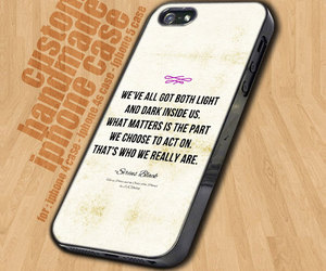 case, harry potter, and quotes image