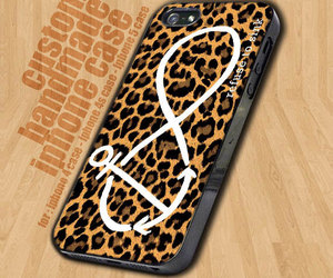anchor, leopard, and case image