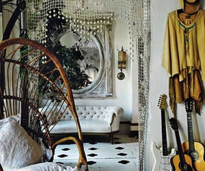 room, boho, and house image