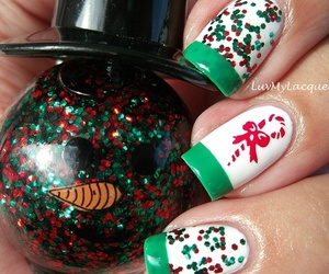 nails, pretty, and nailart image