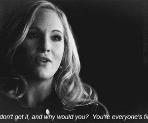 quote, caroline, and tvd image