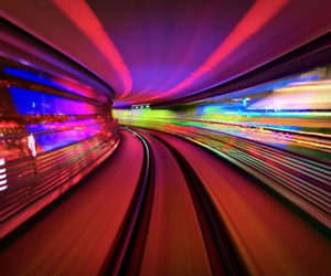 colors and light image