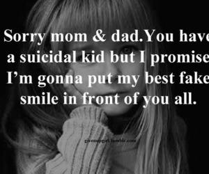 sad, suicide, and depressed image