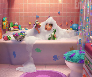 disney, toy story, and bath image