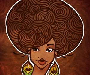 africa, feathers, and african american image