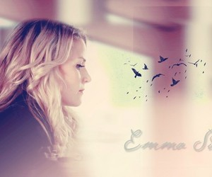blonde, emma, and wallpaper image