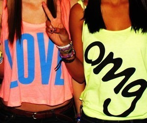 girl, love, and OMG image