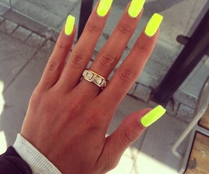 nails and love neon image