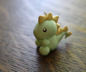 clay, fimo, and dino image