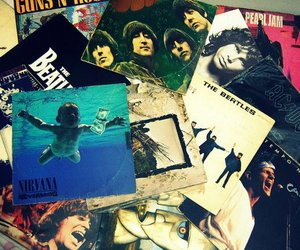 nirvana, the beatles, and ACDC image