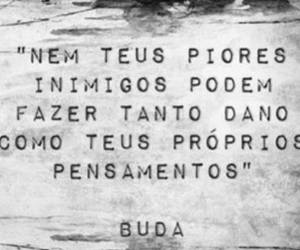 buda, frases, and thought image