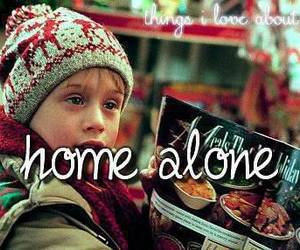 home alone, christmas, and movie image