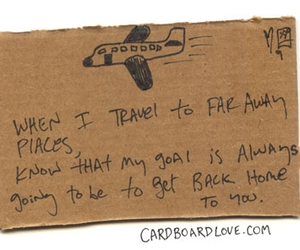 airplane, cardboard, and Letter image