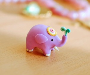 clay, polymer, and elephant image