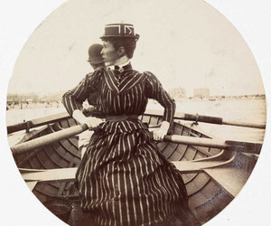 edwardian, stripes, and victorian image
