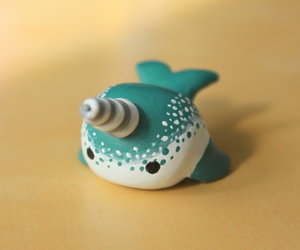 clay, whale, and fimo image