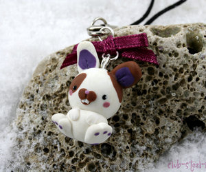 bunny, clay, and fimo image