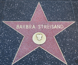 barbra streisand, star, and Walk of Fame image
