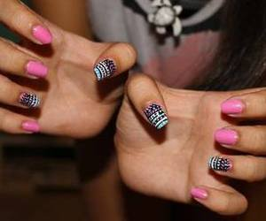 nail art, nail design, and nail polish image