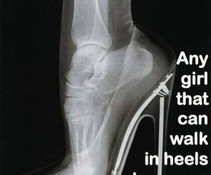 respect, heels, and girl image