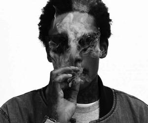 wiz khalifa, smoke, and weed image