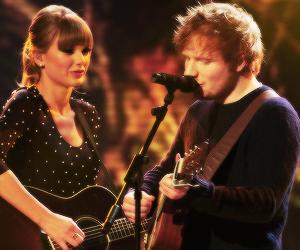 ed sheeran and Taylor Swift image